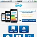 Un site iPhone pour les clients de Bleu Ciel d'EDF