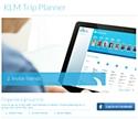 L'application KLM Trip Planner premet de réserver des billets d'avion via Facebook.