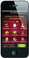 Orchestra Software propose de passer commande au restaurant via l'iPhone
