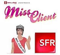 Et la Miss Client 2011 est… Lucie de SFR!