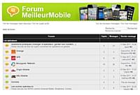 Meilleurmobile.com crée son forum