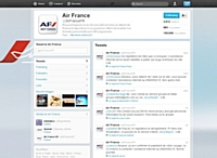 Air France invite ses 100 000 followers à jouer