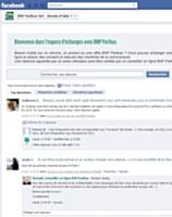 BNP Paribas crée son SAV surFacebook