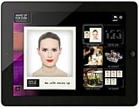 Make Up For Ever crée une application de maquillage sur iPad