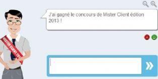 Nathan d'Askom devient Mister Client 2013