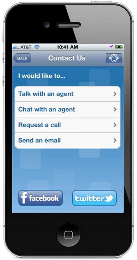 Genesys relie le centre de contacts au smartphone