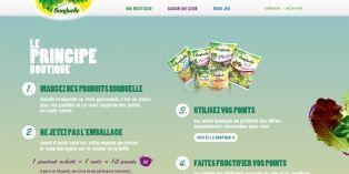 Brand Advocate imagine une boutique de promotions pour Bonduelle