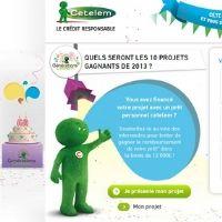 Cetelem soutient ses clients dans leur projet