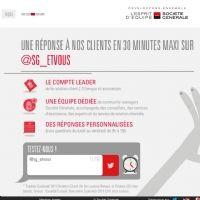 Société Générale promeut sa relation client digitale