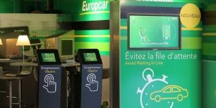 Europcar équipe ses agences de bornes interactives
