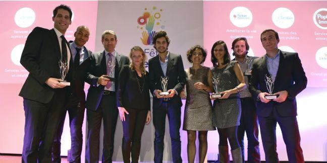 Six sociétés créatrices de services innovants récompensées lors de la Fête des Services