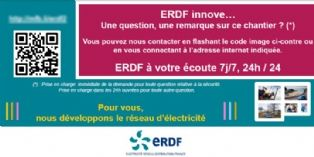 ERDF recueille la satisfaction des riverains