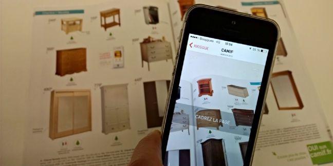 La Camif sort un catalogue papier connecté