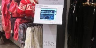 New Look digitalise l'inscription à la carte de fidélité