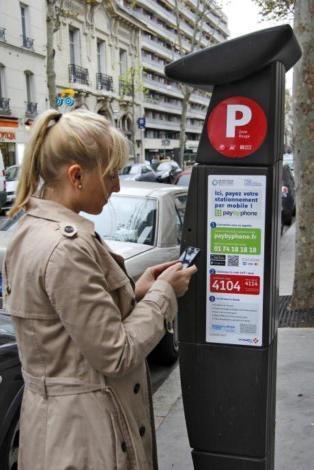 vinci park et paybyphone d ploient le paiement du stationnement via mobile. Black Bedroom Furniture Sets. Home Design Ideas