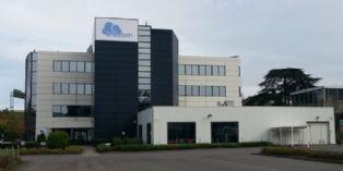 Le site d'in2com à Diegem près de Bruxelles