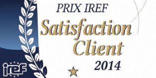 L'IREF crée le prix IREF Satisfaction Client 2014