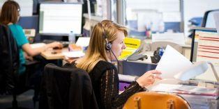 Plateforme d'accueil et de relation clients de BPCE Assurances basée à Mérignac