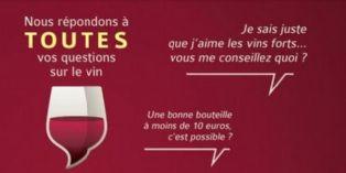 Nicolas répond aux amateurs de vin sur Twitter