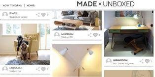 Made.com met son mobilier en vitrine chez ses meilleurs clients