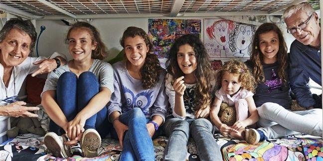 Reportage sur la famille 'modulable' (source : Ikea)