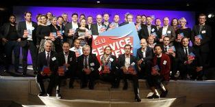 Élu Service Client de l'Année 2016: les lauréats