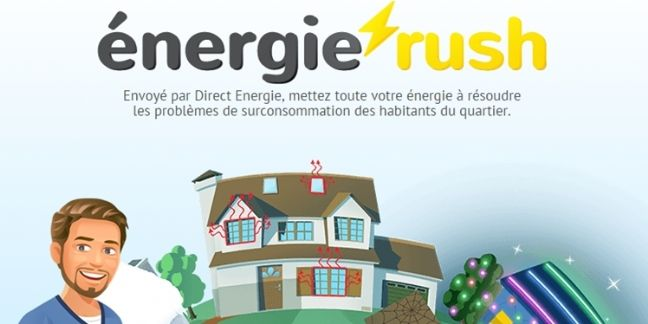 Direct Energie lance un Social Game sur sa page Facebook