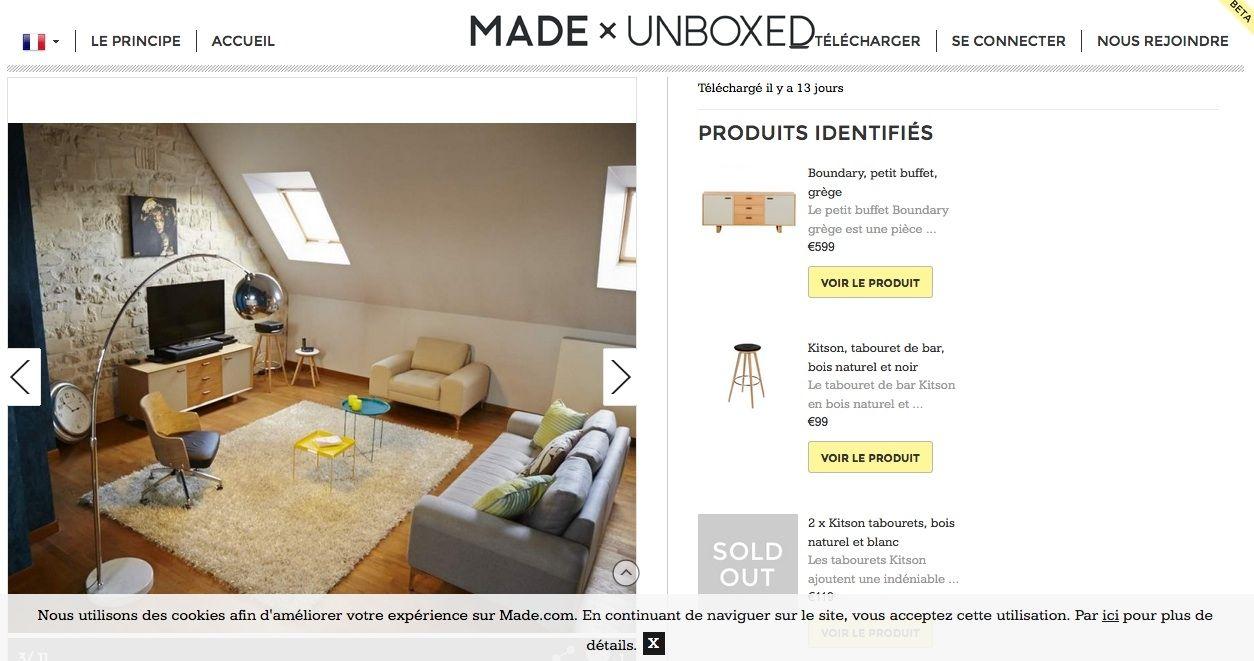 lance son showroom participatif. Black Bedroom Furniture Sets. Home Design Ideas