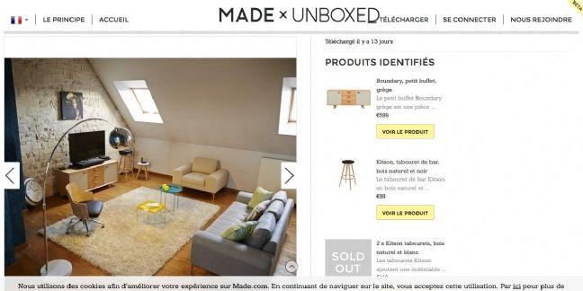 Made.com lance son showroom participatif