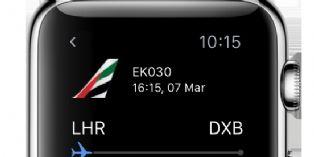Emirates embarque ses clients avec l'Apple Watch