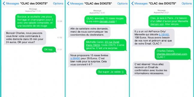 Clac des Doigts, le service de conciergerie par SMS