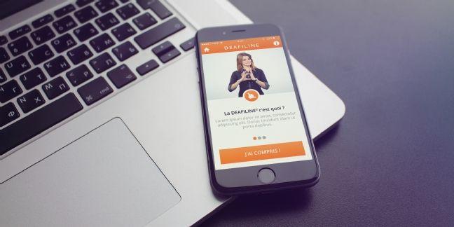 Deafi sort une application mobile pour les déficients auditifs