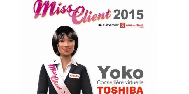 Et la nouvelle miss client 2015 est ...
