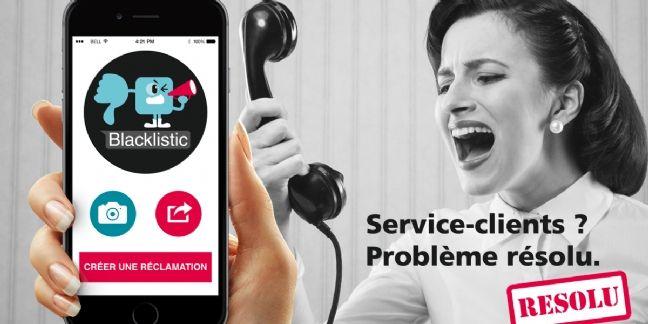 Blacklistic lance une application pour les clients mécontents