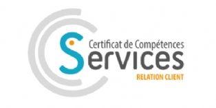 Lancement d'un certificat des Compétences Services relation client