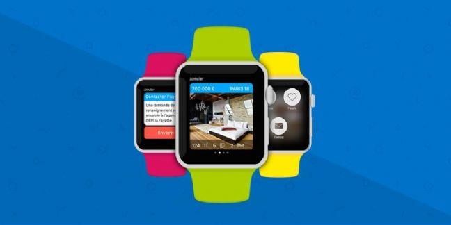 Logic-Immo débarque sur l'Apple Watch