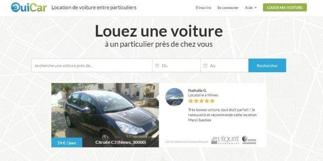OuiCar lève 28 millions d'euros auprès de la Sncf
