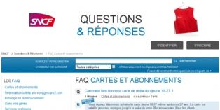 Comment SNCF s'organise pour communiquer avec les internautes