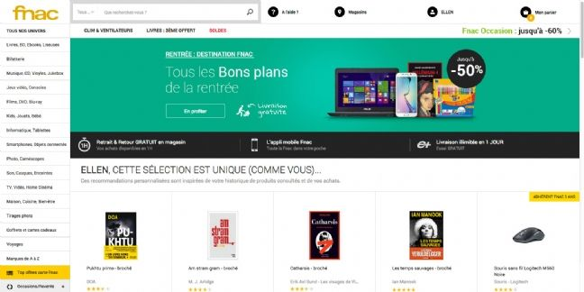 Fnac.com se transforme pour enrichir l'expérience client