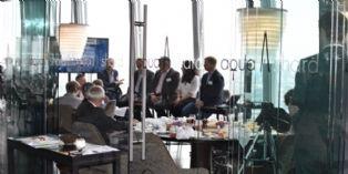 L'équipe SAP lors de la conférence de presse à Londres le 15 septembre 2015