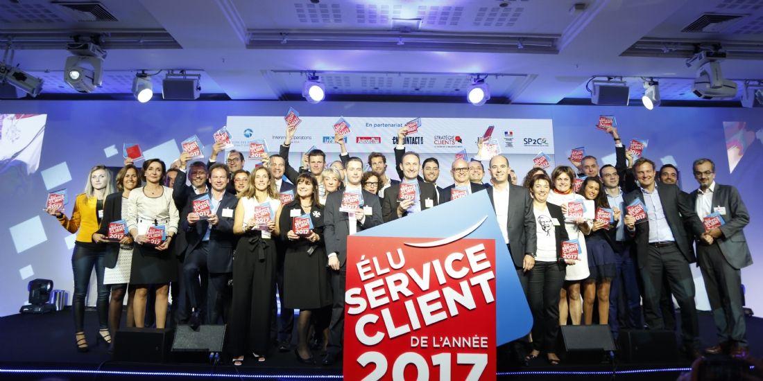 Élu service client de l'année 2017: les gagnants