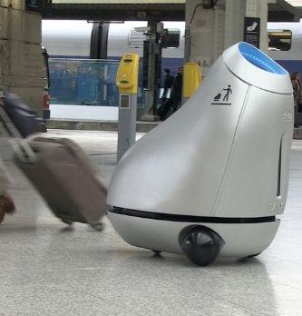 La SNCF va tester un robot poubelle en Gare de Lyon