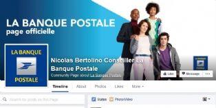 Les conseillers de La Banque Postale créent leurs profils Facebook