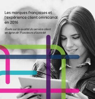 Etude Eptica : les marques françaises et l'expérience client omnicanale en 2016