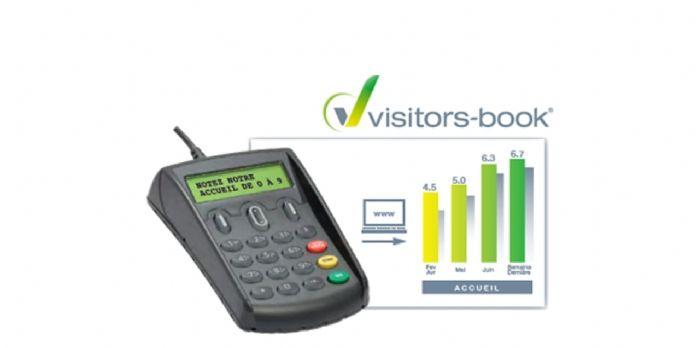 Visitors-books recueille les avis des clients sur les terminaux de paiement