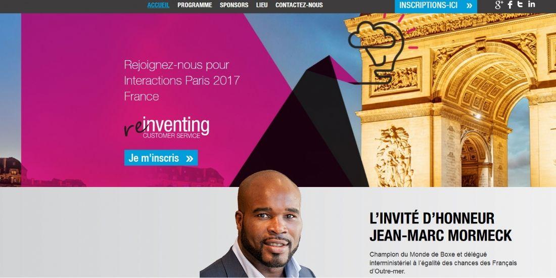 [Agenda] Interactions Paris 2017 réinvente le service client