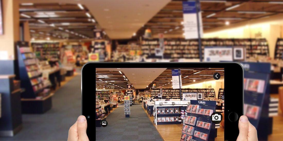 Cultura teste l'application AR Survey pour déployer son concept d'espace détente en magasin, et ainsi améliorer l'expérience client