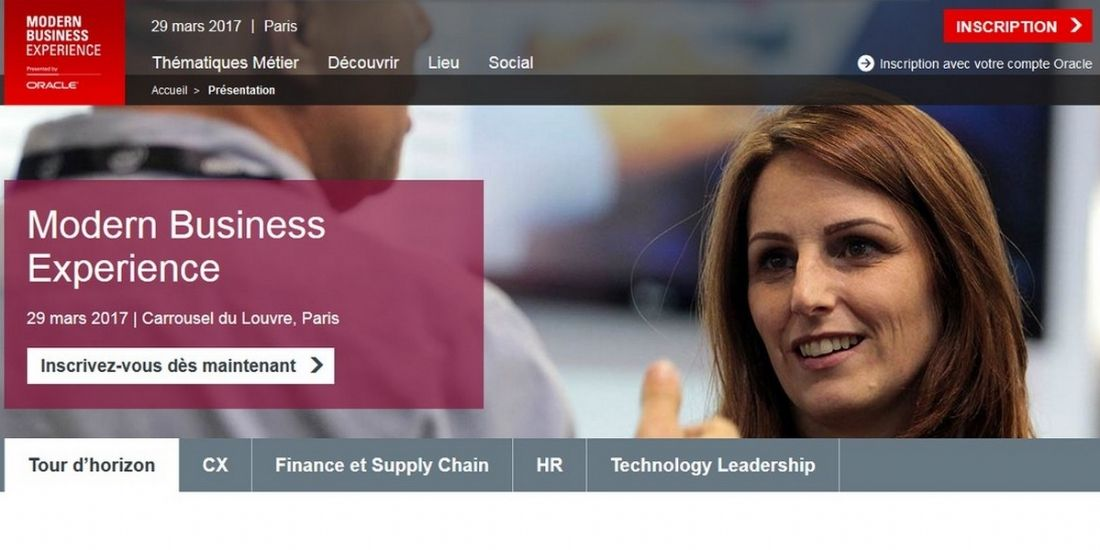 Oracle lance le 'Modern Business Experience' en France