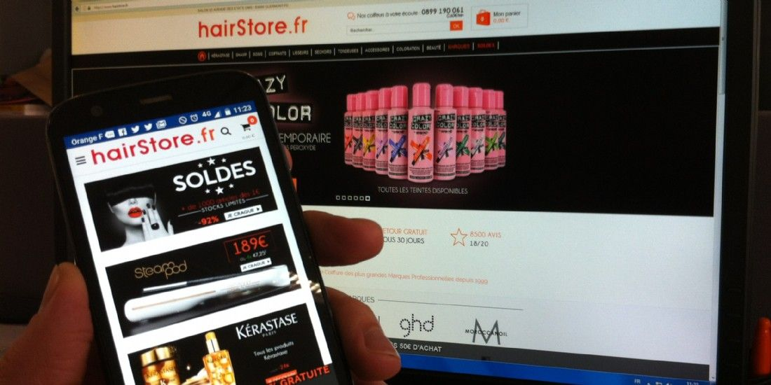 Hairstore, une coloration mobile payante