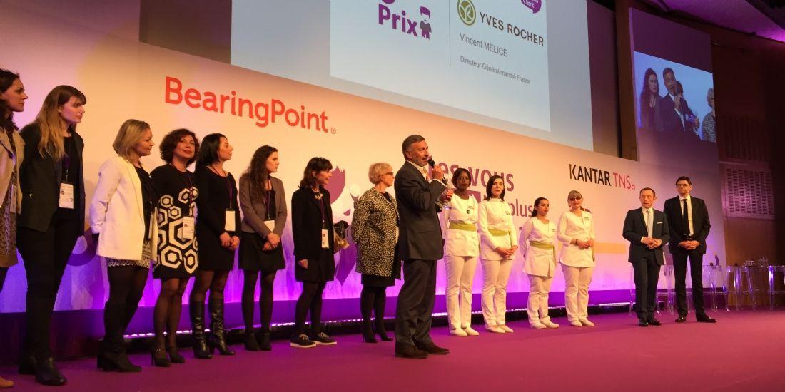 Yves Rocher truste la première place du Podium de la Relation Client 2017